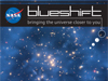 NASA Blueshift logo