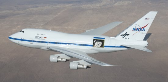 Stratospheric Observatory for Infrared Astronomy